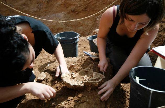 Excavación en Nesher