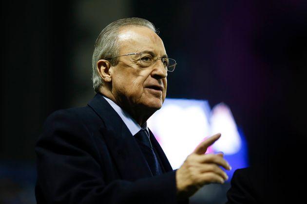 El presidente del Real Madrid, Florentino