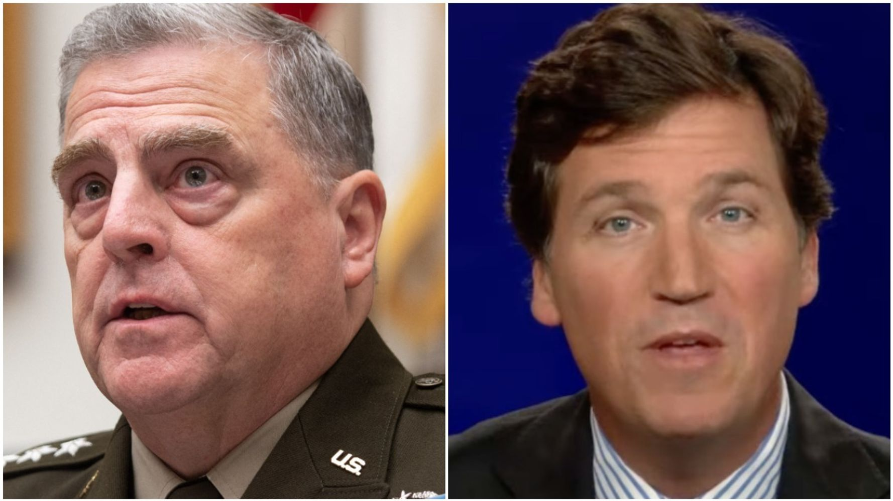 'Coward' Tucker Carlson Torched For Calling Top U.S. General 'A Pig' And 'Stupid'