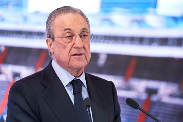 Florentino Pérez, en una foto de