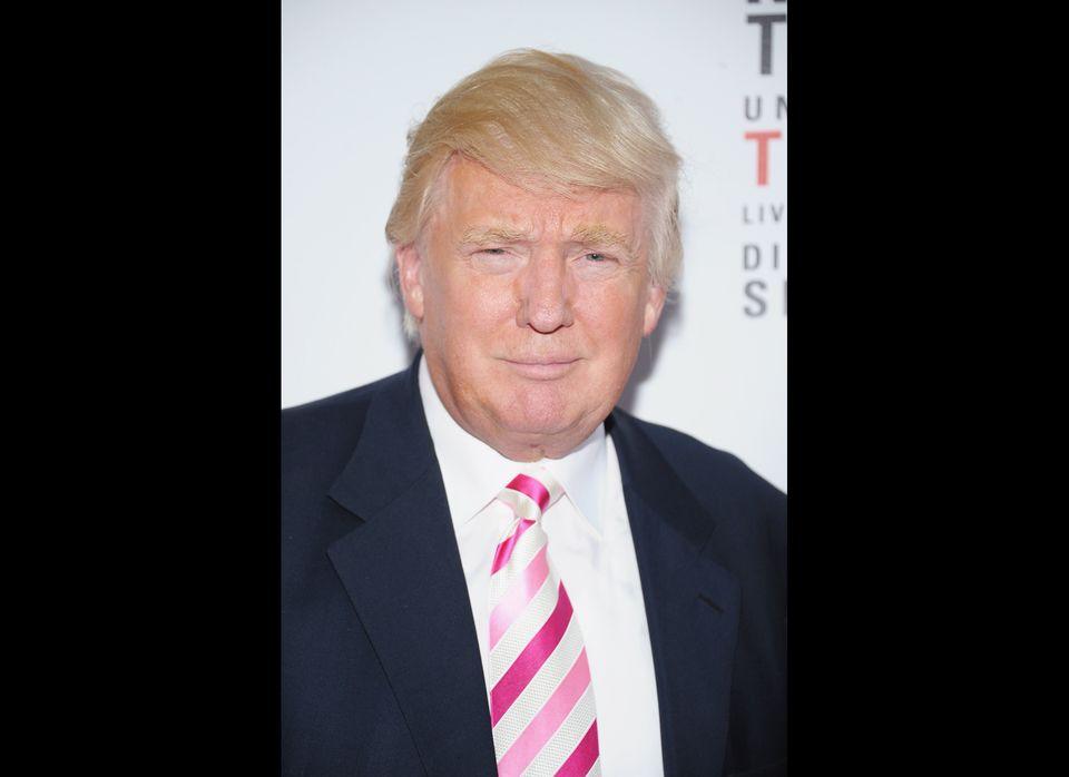 Donald Trump pre-zombie makeover.