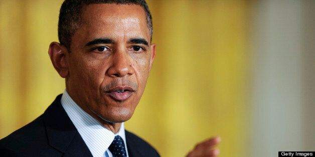 WASHINGTON, DC - APRIL 22: Barack Obama hosts the White House Science Fair, celebrating student winners of a range of science