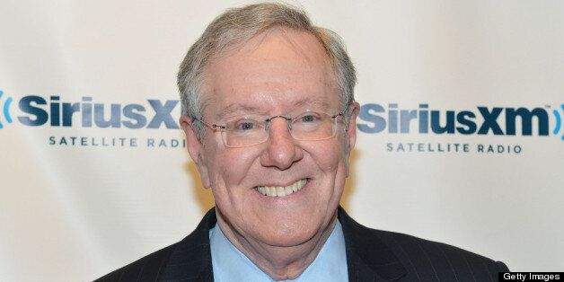 NEW YORK, NY - MARCH 30:  Steve Forbes, President/CEO of Forbes Media, visits the SiriusXM Studio on March 30, 2012 in New Yo