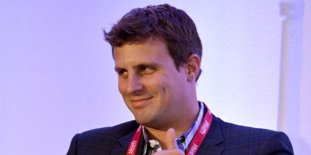 LOS ANGELES, CA - JUNE 27:  DollarShaveClub.com founder & CEO Michael Dubin speaks during Variety's Venture Capital & New Med