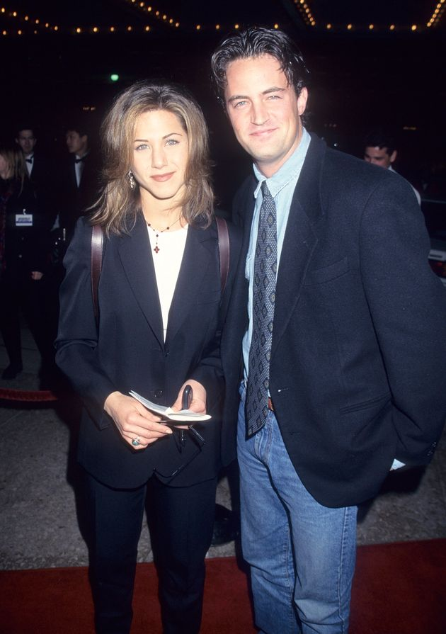 Jennifer Aniston and Matthew Perry pictured in