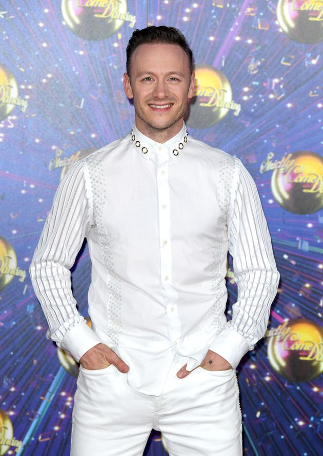 Kevin Clifton at the 2019 Strictly