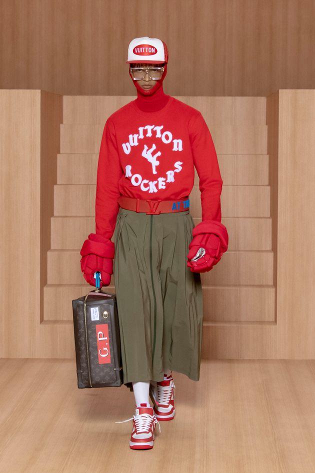 Fashion Week: Louis Vuitton fait défiler à son tour ses mannequins homme en