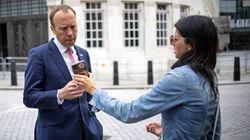 Le ministre de la Santé britannique au cœur d'un scandale
