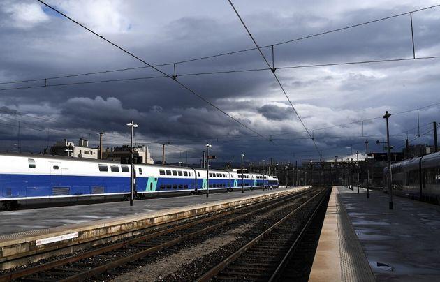 Photo d'illustration prise en gare Saint-Charles à Marseille le 9 avril