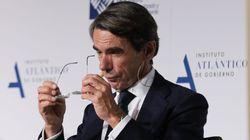 Aznar acusa al PSOE de llegar al Gobierno