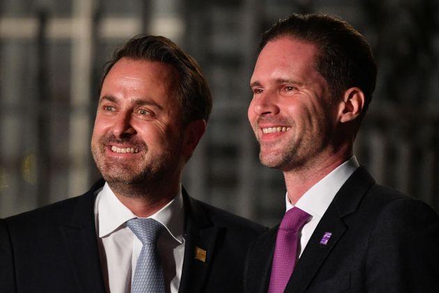 ll premier lussemburghese Xavier Bettel e il marito Gauthier