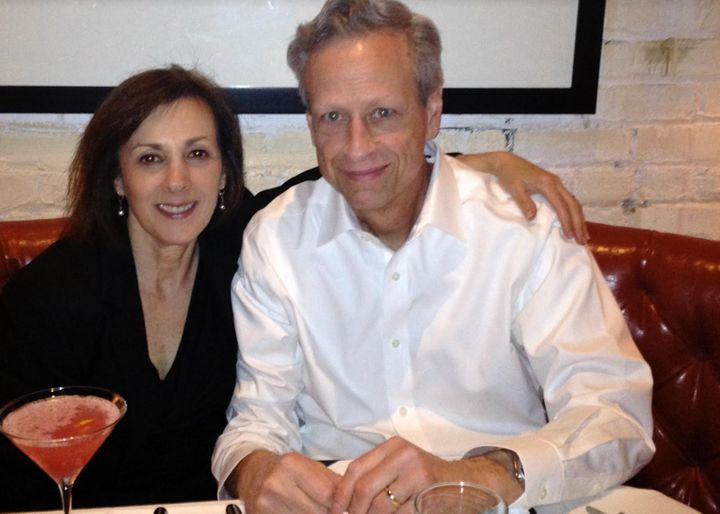 The author and Steve celebrating Ann's birthday in New York City in 2019.