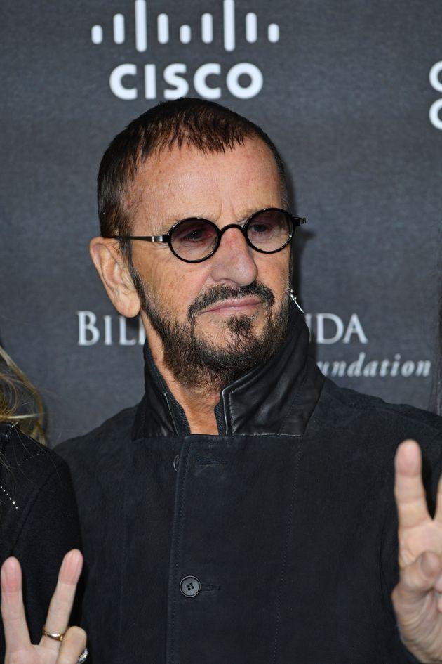 Ringo Starr pictured in