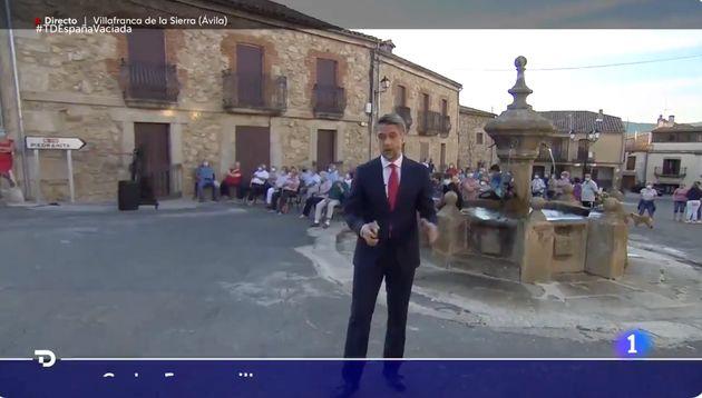 Carlos Franganillo desde Villafranca de la