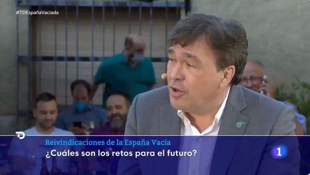 Tomás Guitarte en 'El Telediario de