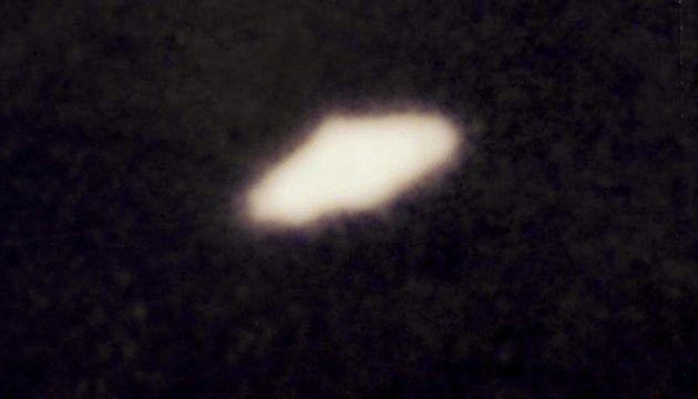 Nell'immagine d'archivio (datata 2005) un UFO avvistato in Amazzonia, mostrato a Cosenza nel corso di...
