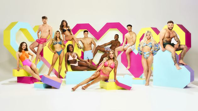 Hugo with the rest of this year's Love Island