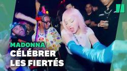 Madonna donne un mini concert surprise pour célébrer la Marche des Fiertés à New