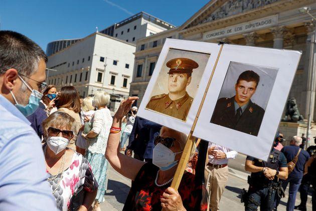 Víctimas del terrorismo protestan por el homenaje celebrado en el