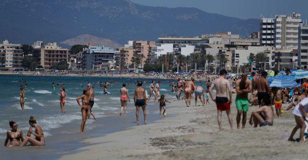 Playa del Arenal en