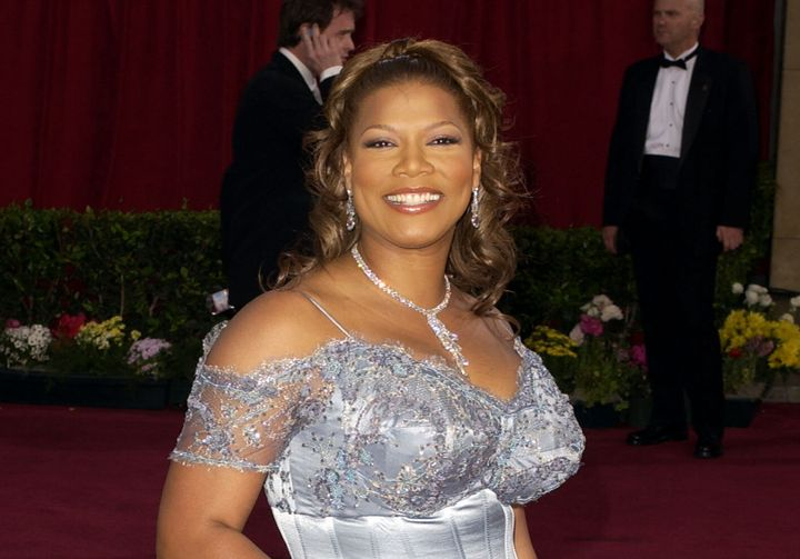 """Queen Latifah attends the 2003 Oscars, the year she was nominated for best supporting actress for her role in """"Chicago."""""""