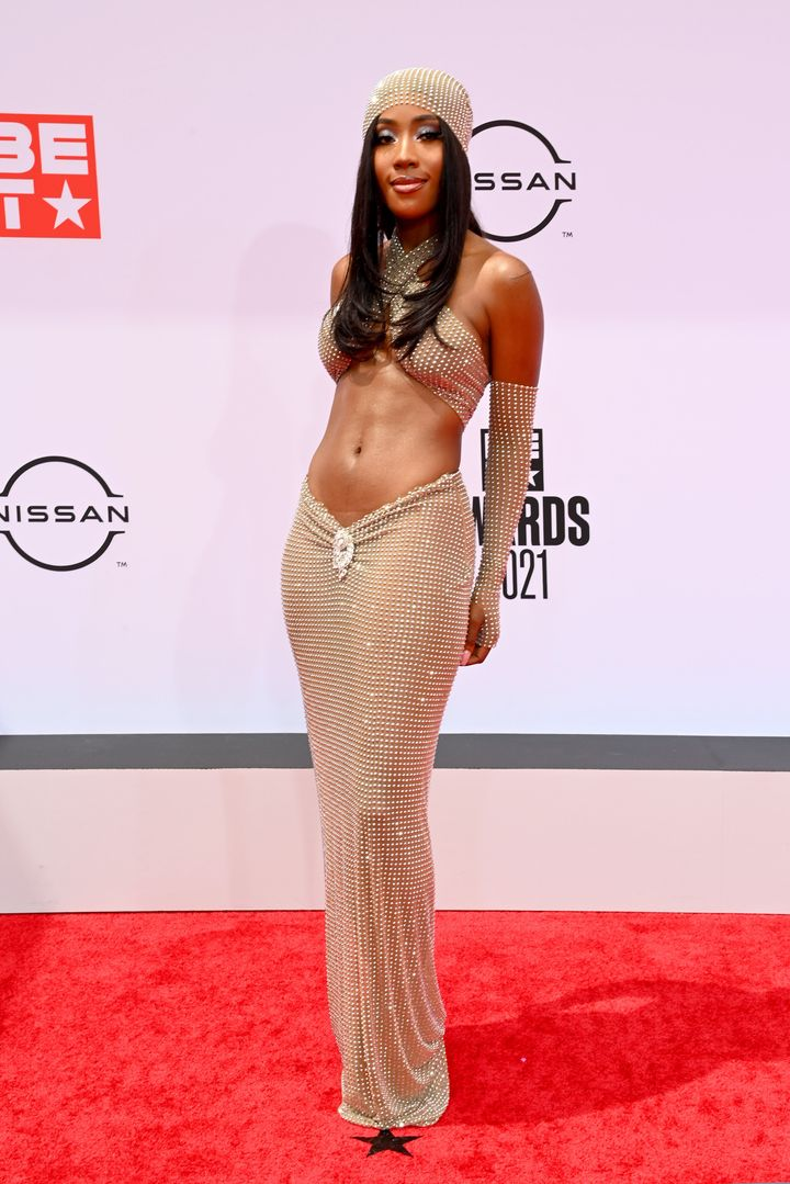 Sevyn Streeter attends the BET Awards 2021 at Microsoft Theater on June 27 in Los Angeles, California.