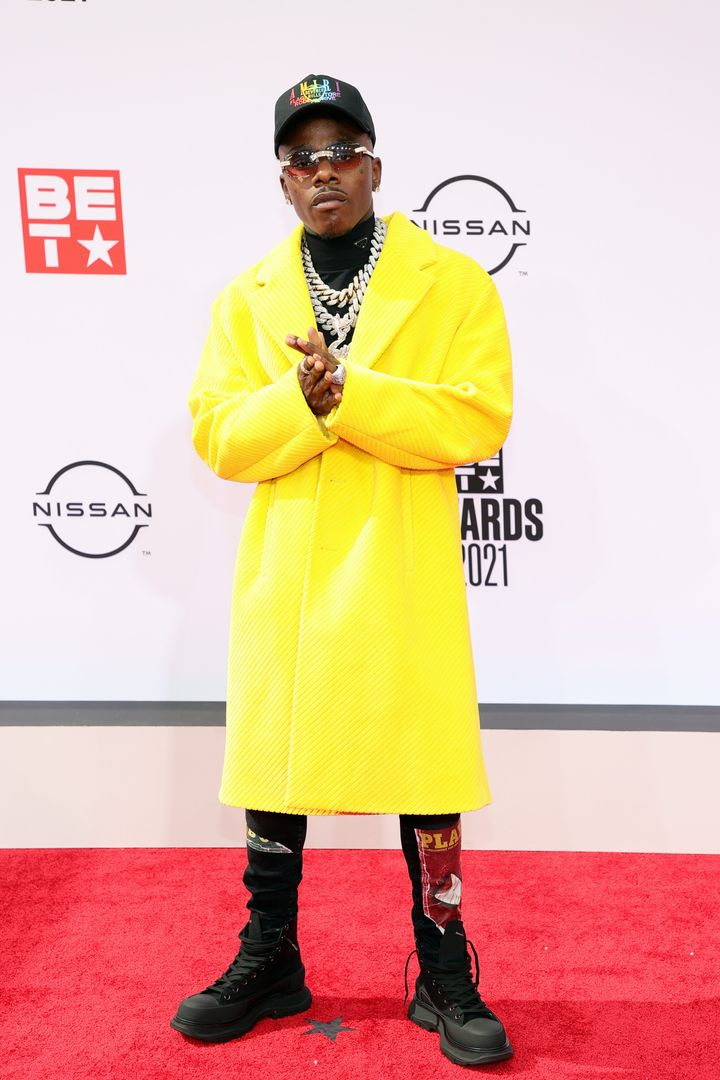DaBaby attends the BET Awards 2021.