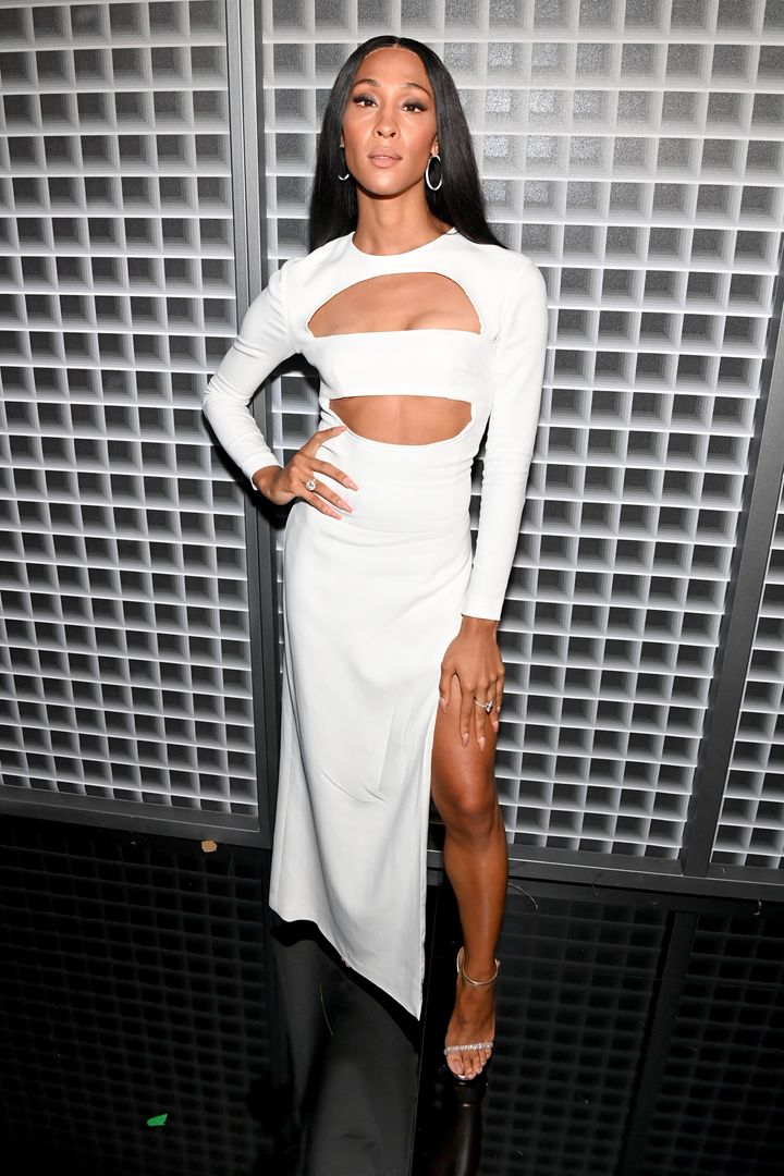 Mj Rodriguez attends the BET Awards 2021.