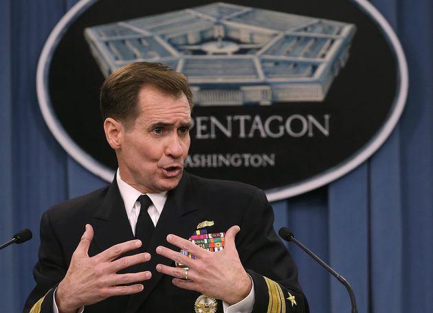 El portavoz del Pentágono, John