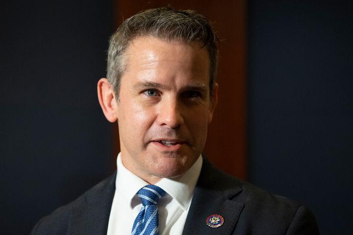 "Rep. <a href=""https://www.huffpost.com/topic/adam-kinzinger"" target=""_blank"">Adam Kinzinger</a> (R-Ill.) is urging Republican"