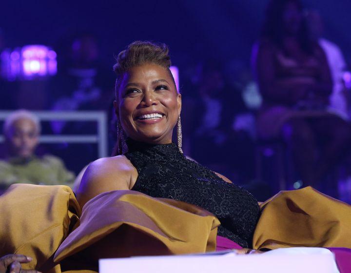 Queen Latifah attends the BET Awards 2021.