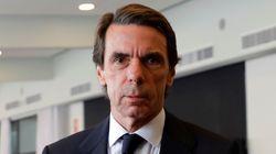 Aznar, entre guiñol y