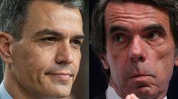 Sánchez reclama a Aznar que pida perdón por la guerra de