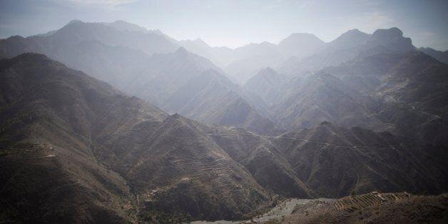 SANA'A, YEMEN - JANUARY 12:  A view of the mountains in the western Yemeni province of Hajjah January 12, 2010 in Sana'a, Yem