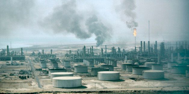 The Aramco Oil Refinery in Dahran, Saudi Arabia, Middle East. (Photo by: MyLoupe/UIG via Getty Images)