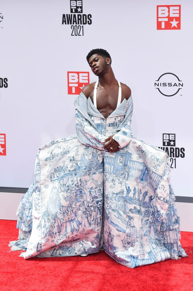 Lil Nas X makes his way into the BET