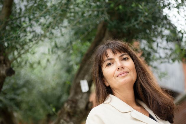 """French writer Valerie Perrin, talks about her novel and writing during """"Insieme"""" book show,..."""