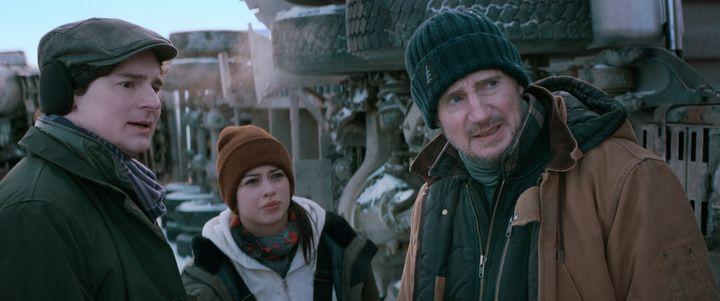 """The Ice Road"" on Netflix."