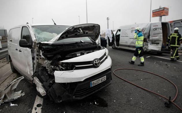 Accidente de tráfico en