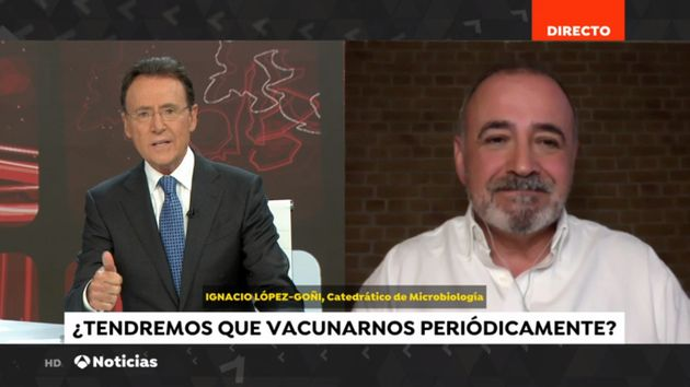 Ignacio López-Goñi en Antena