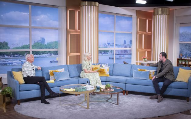 Daniel Mays spoke to Phillip Schofield and Holly Willoughby on This