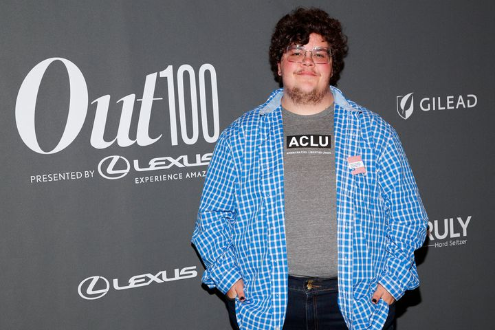 Gavin Grimm attends an event in New York City in 2019. The former Gloucester County high school student celebrated Monday's d