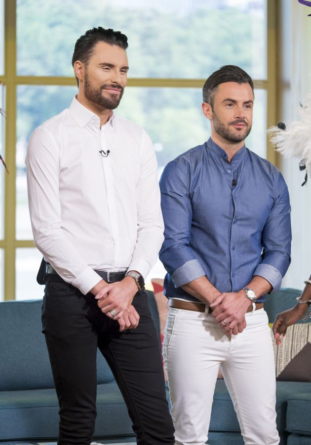 Rylan and Dan co-hosting This Morning together in