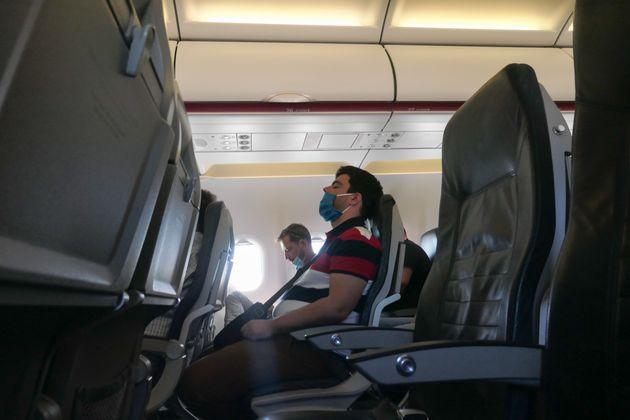 Μέσα σε αεροπλάνο της Aegean