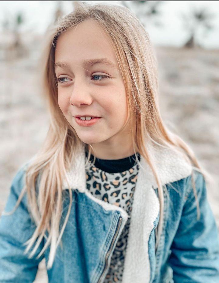 Cloe Aicart, de 10 años.