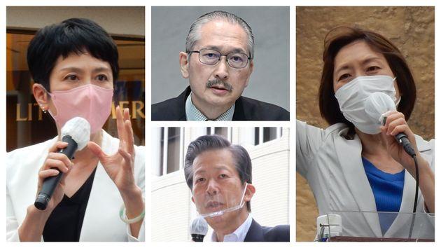 東京都議選では立憲と共産の共闘を、連合と公明が牽制している