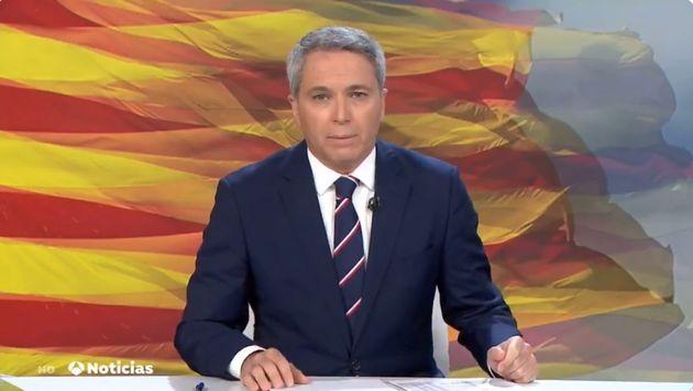 Vicente Vallés este martes en Antena