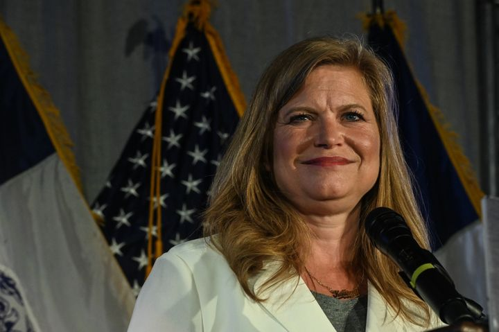 """Kathryn Garcia said she remains upbeat about her chances: """"We are incredibly hopeful about the 124,000 absentee ballots"""