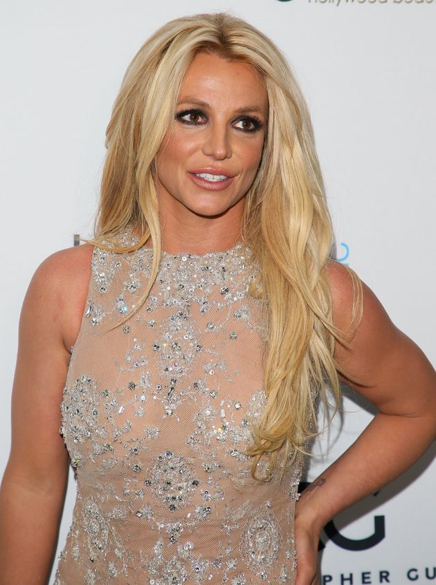 Britney Spears photographed in