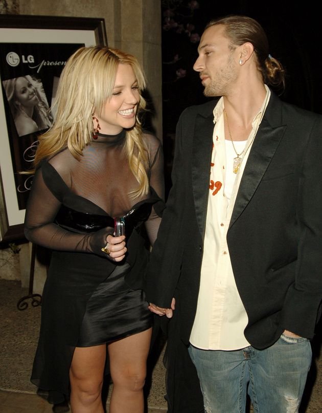 Britney Spears and Kevin Federline pictured during their